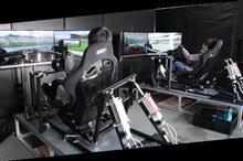 SF14のレーシングシミュレーターを体験!