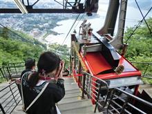 白糸の滝、鳴沢氷穴、富岳風穴、河口湖遊覧船、カチカチ山ロープウェイ(^^)
