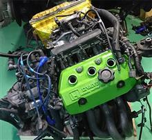 【ビート】【E07A改R1_2】旧E07A改 エンジン下りた
