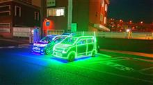 大黒PAで、超絶LED電飾車発見!!!