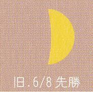 月暦 7月30日(日)