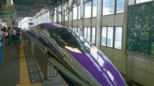 広島探訪 その3 山陽新幹線 500TYPEエヴァ 搭乗