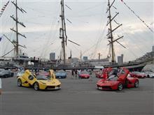 海フェスタ神戸で帆船とフェラーリとアイサイトを堪能^^