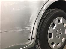『トヨタ アイシス 板金・塗装・修理(車両保険)』 東京都西東京市よりご来店のお客様です。