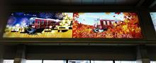 久しぶりの阪急電鉄、、祇園祭・天神祭のヘッドマークを撮りに。