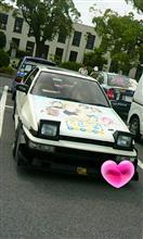 かなり久しぶりに見た千葉のみん友さんの車!(^o^)/…