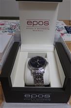 時計購入。