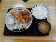 舞鶴若狭道上り六人部PA 海老から定食740円