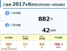 【再計算】新型PHV 6月従量電灯での燃費を再計算 編