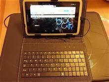 タブレットPC にキーボード!