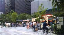 夏祭 日本橋福徳神社で夏を(ちょっと)満喫。