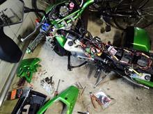 KSRの電装系修理
