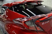新世代ハイブリッドモデル!トヨタ・C-HRのガラスコーティング【リボルト新潟】