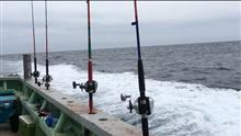 人生初の海船釣り