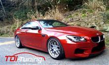 【BMW M6 ABA-LZ44M ガソリン車用サブコンTDI Tuning】インプレ頂きました!