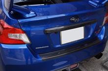 スバル WRX-STI/S4用ドライカーボン製リアドアステップガード予約販売開始!