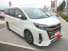 〈試乗車〉TOYOTA New NOAH Hybrid Si