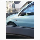 昨日ある駐車場にて
