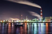 久し振りの工場夜景