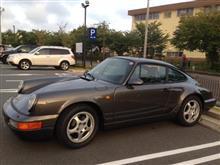 Porsche.964車検とタイヤ交換。