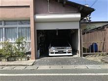 8月13日は お墓参りの為 86はG-MAXの実家の車庫に移動しました。