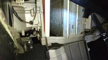 スープラのエバポレータ清掃とエアコンフィルター追加