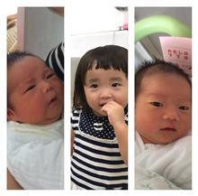 今月 孫が 2人も 増えました
