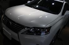 ハイブリッドSUV レクサス・RX450hのガラスコーティング【リボルト湘南】