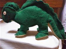 フェルト恐竜