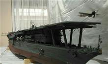 手作軍艦模型展示 滋賀県長浜