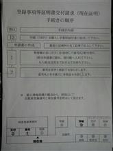 もぐもぐ 書類無し車両の登録情報・・・  撃沈(>_<。)