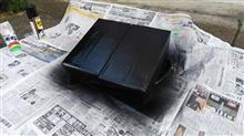 段ボール箱で作ってみました。f(^ ^);