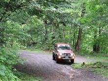 夏の林道ドライブ 1日目