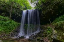 岡山県で滝巡り【神庭の滝・岩井滝・山乗渓谷不動滝】