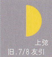月暦 8月29日(火)