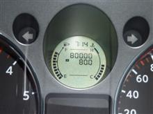 祝80000km