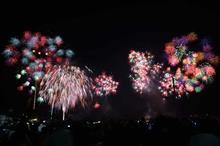 かごしま錦江湾サマーナイト大花火大会に酔いしれました