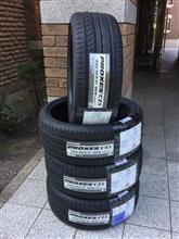 タイヤ交換~