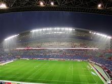 美しいスタジアム。