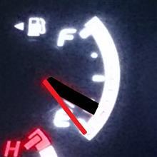 2017/08/23 ガソリン残量E切りそうなのでハイオクを1000円給油してみた♪