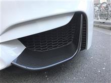 M4 M Performance カーボン・フロント・スプリッターのみ取付
