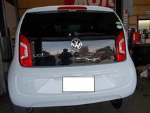 VW UP! DBA-AACHY 電動ファン オーバーヒート