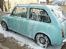 夕方からの洗車