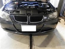BMW E90 エンジンチェック点灯 修理