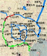 江戸城の堀に沿って歩く旅(③牛込門~水道橋)