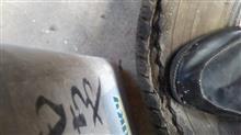 危険なスペアタイヤ