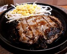 今日はお肉の日、チーズinハンバーグ( *´艸)