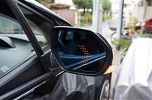 トヨタ プリウス50用LEDウィンカー付きドアミラーテスト中!