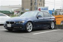 トータルアライメント調整...BMW F30 320d  H&Rサスペンション 慣らし完了