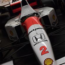 【ドニントン・パーク】McLaren Honda MP4/7A-8 1992